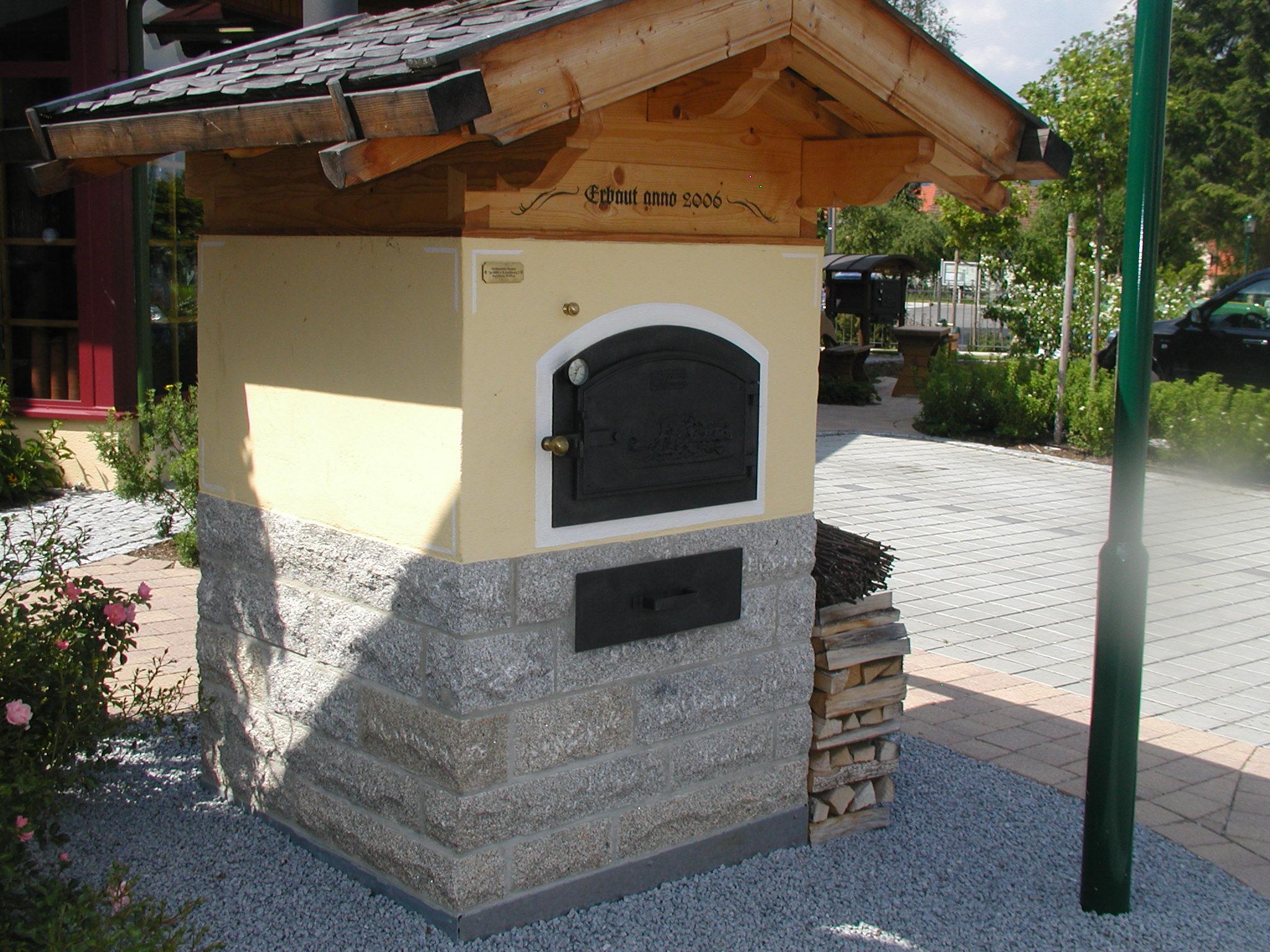 Holzbackofen Lehmbackofen Bauanleitung Bà ¤cker Pizzaofen ...